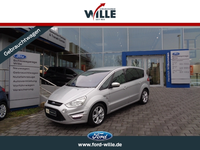 Ford S-Max Titanium AHK Navi Winter-Paket 7-Sitzer, Jahr 2014, Diesel