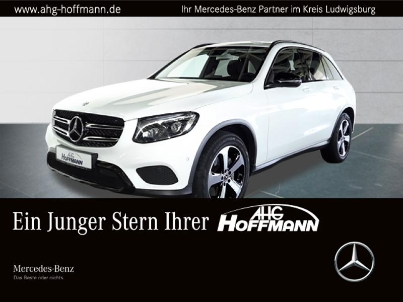 Mercedes-Benz GLC 300 4M Exclusiv+Night+LED+Comand+Kam+PDC+SHZ, Jahr 2017, Benzin