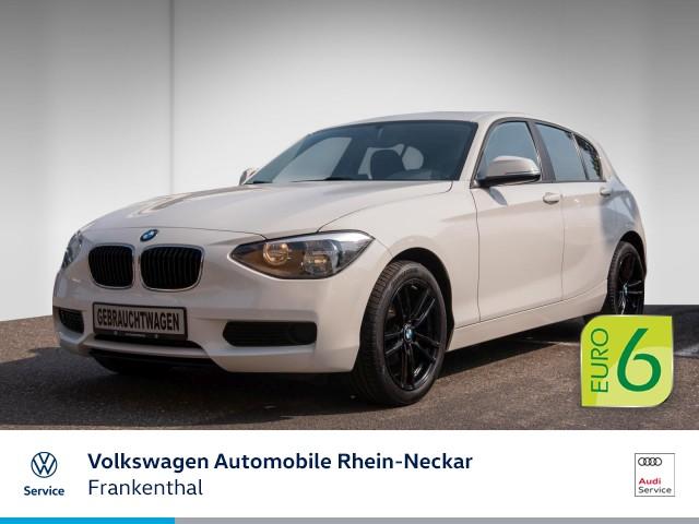 BMW 116i Advantage Paket Plus Bluetooth Sitzheizung uvm, Jahr 2014, Benzin