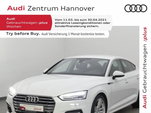 Audi A5 Sportback 40 TDI Sport, ACC, Xenon, Navi, Komfortschlüssel, Jahr 2019, Diesel