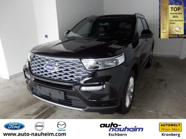 Ford Explorer Platinium Plug-in-Hybrid 4x4 3.0 EcoBoost EU6d-T 7-Sitzer Leder LED Navi, Jahr 2020, Hybrid