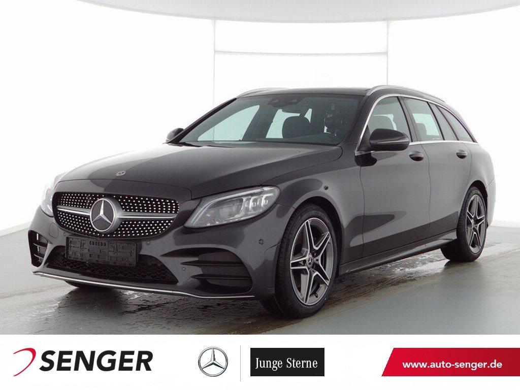 Mercedes-Benz C 220 T d AMG AHK Panoramdach Kamera Multibeam, Jahr 2021, Diesel
