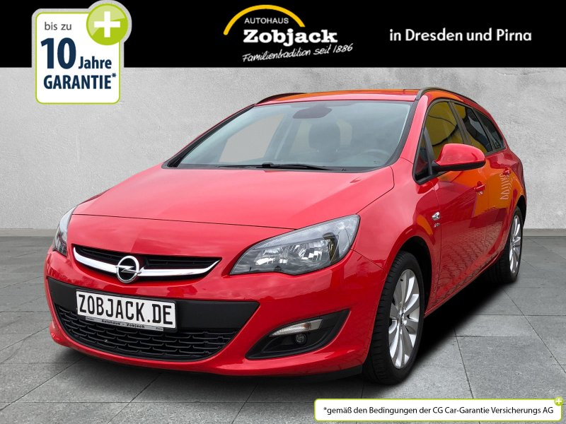 Opel Astra-J ST Active 1.4T SHZ,Klimaautomatik,PDC, Jahr 2013, Benzin
