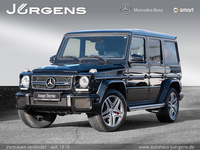 Mercedes-Benz G 63 AMG Comand/SHD/Cam/Totw/HarmanK/Designo/20, Jahr 2017, Benzin