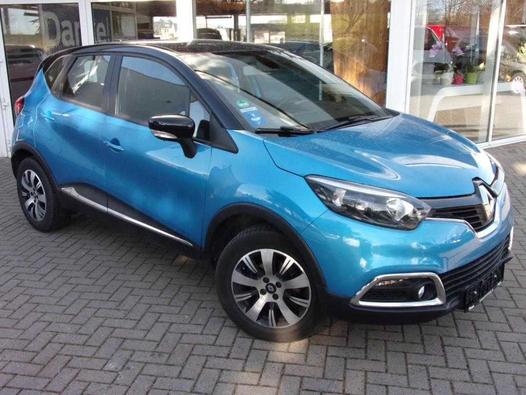 Renault Captur Klima, Navigationssystem, Tempomat, Jahr 2014, Benzin