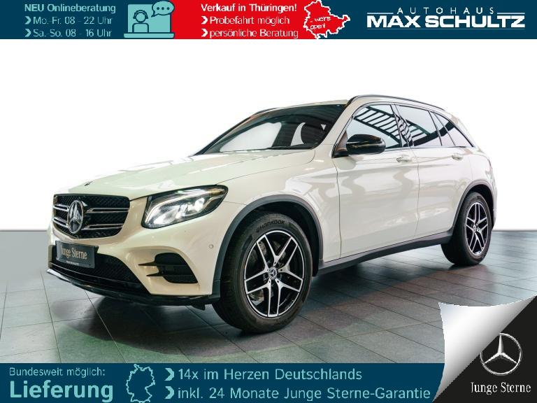 Mercedes-Benz GLC 350 d 4MATIC AMG*Comand*Fahrassist.*Night, Jahr 2017, Diesel