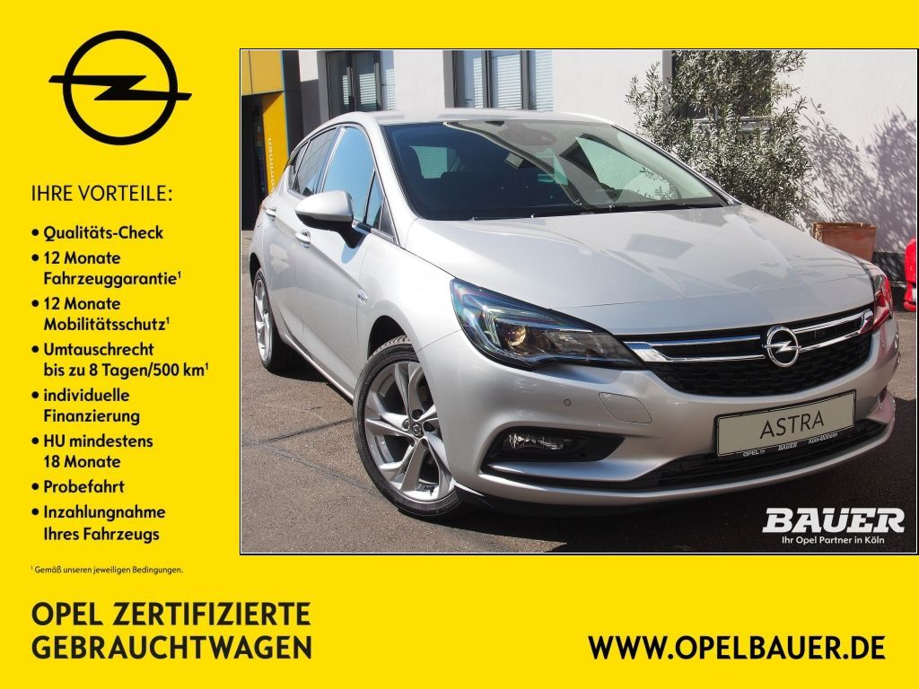 Opel Astra 1.4 Turbo ON, Jahr 2018, Benzin