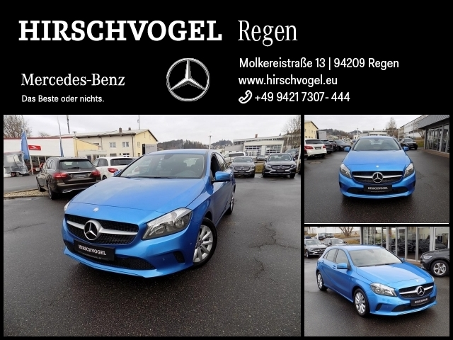 Mercedes-Benz A 200 d Navi+PDC+Sitzheiz+Klima+Komfortfahrwerk, Jahr 2016, Diesel