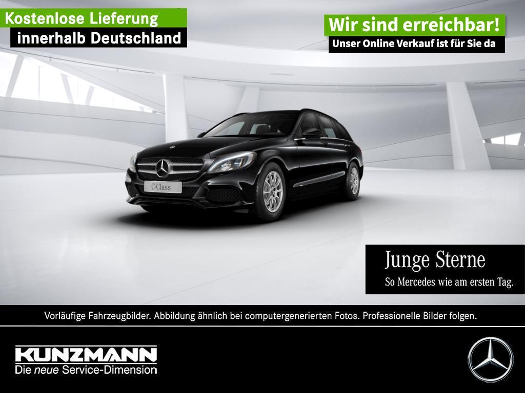 Mercedes-Benz C 160 T Navigation LED Parktronic Totwinkel, Jahr 2018, Benzin