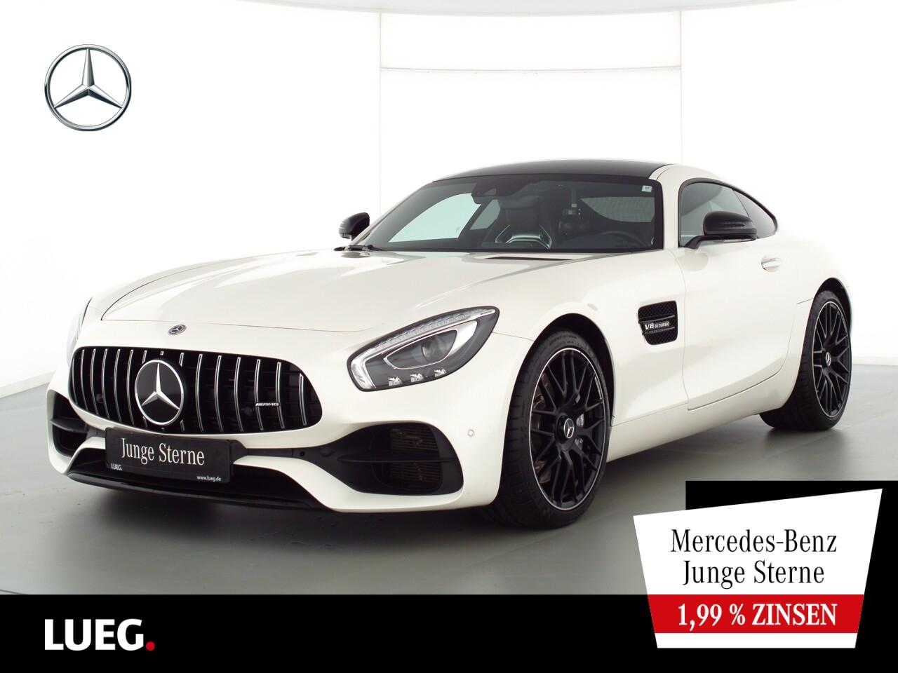 Mercedes-Benz AMG GT Coupé COM+LED+PAbGas+PerfSitze+Burm+Distr, Jahr 2018, Benzin
