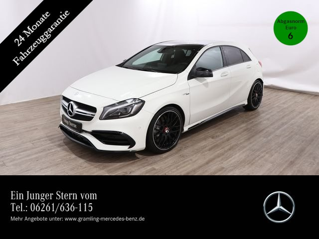 Mercedes-Benz A 45 AMG 4M *COMAND*Pano*Kamera*AMG-AbGasanlage*, Jahr 2016, Benzin
