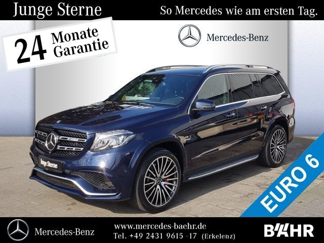 "Mercedes-Benz GLS 63 AMG 4M Comand/ILS/AMG Driver'sPackage/22"", Jahr 2016, petrol"