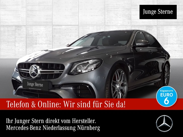 Mercedes-Benz E 63 S 4MATIC Sportpaket Bluetooth Head Up Display, Jahr 2017, Benzin