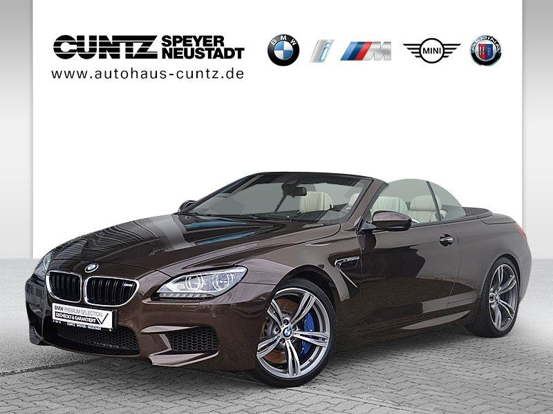 BMW M6 Cabrio M Drivers P. Head-Up B&O HiFi DAB LED, Jahr 2013, petrol
