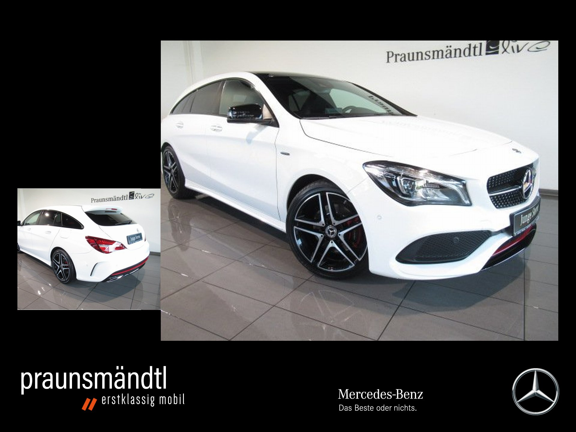 Mercedes-Benz CLA 250 4M SB Sport AMG Night/LED/Pano/Sound/Com, Jahr 2018, Benzin