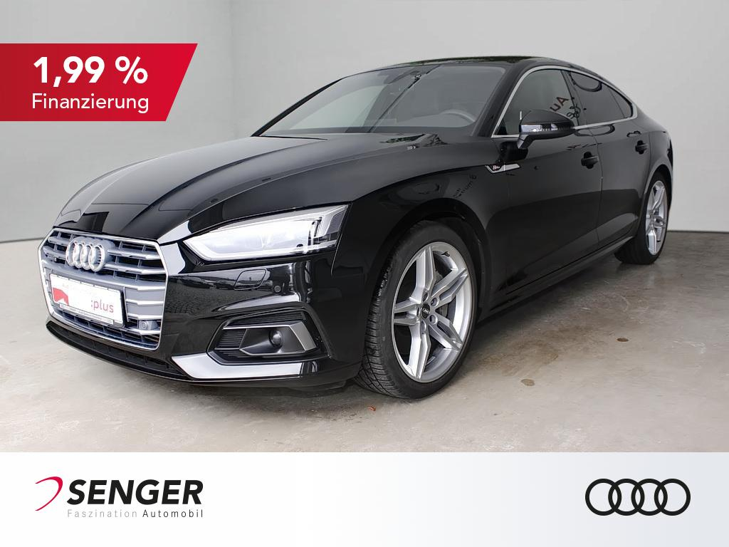 Audi A5 Sportback Sport 45 TDI S line Memory Leder VC, Jahr 2019, Diesel
