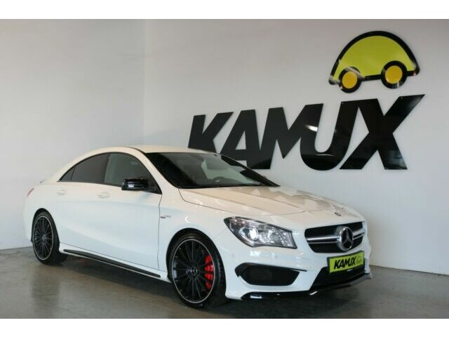 Mercedes-Benz CLA 45 AMG Performace 4Matic +Bi-Xenon+Nav+Night, Jahr 2015, Benzin