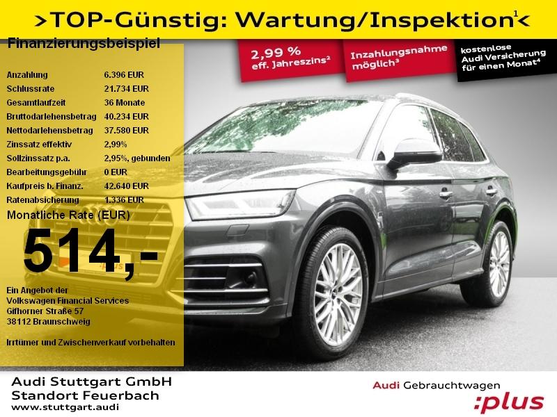 Audi Q5 sport 2.0TFSI quattro S line LED Pano AIR ACC, Jahr 2018, Benzin
