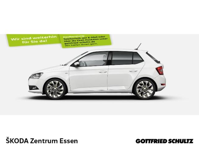 Skoda Fabia 1.0 TSI 70KW CLEVER Climatronic, Sitzheizung, Einparkhilfe, Jahr 2021, Benzin