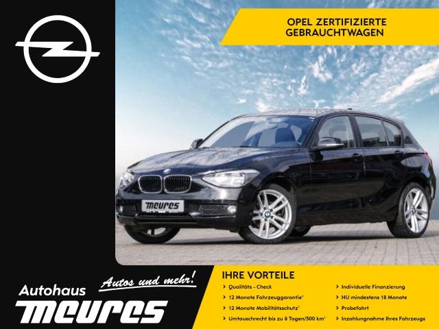 BMW 116 i PDC KLIMA SITZHZG LM-FELGEN RADIO-CD EFH -, Jahr 2014, petrol