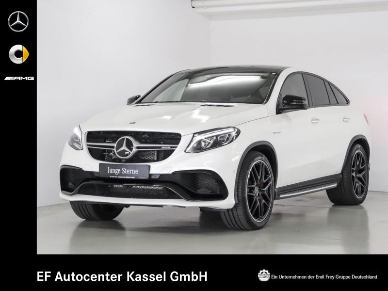 Mercedes-Benz GLE 63 AMG S Cp+Night+Sitzklima+Distro+Driver's+PerfAbgas, Jahr 2017, petrol