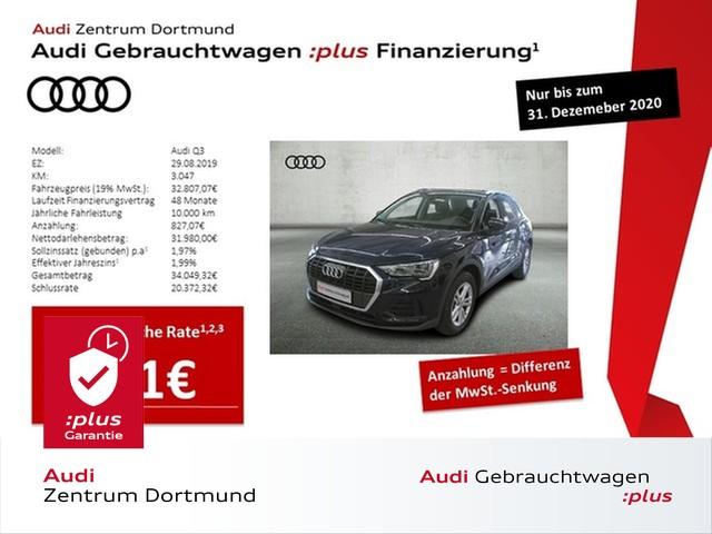 Audi Q3 35TDI S-tronic/DAB/GRA/APS/VC, Jahr 2019, Diesel