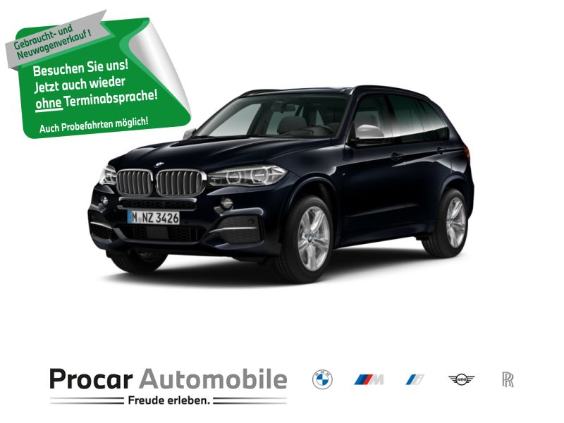 BMW X5 M50d M Sportpaket Head-Up HK HiFi LED WLAN, Jahr 2018, Diesel