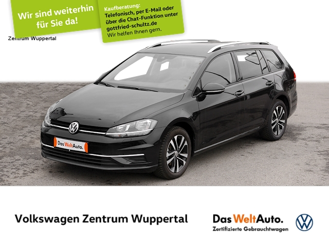 Volkswagen Golf Var. 1,0 TSI IQ. DRIVE NAVI AHK SHZ PDC LM, Jahr 2019, Benzin