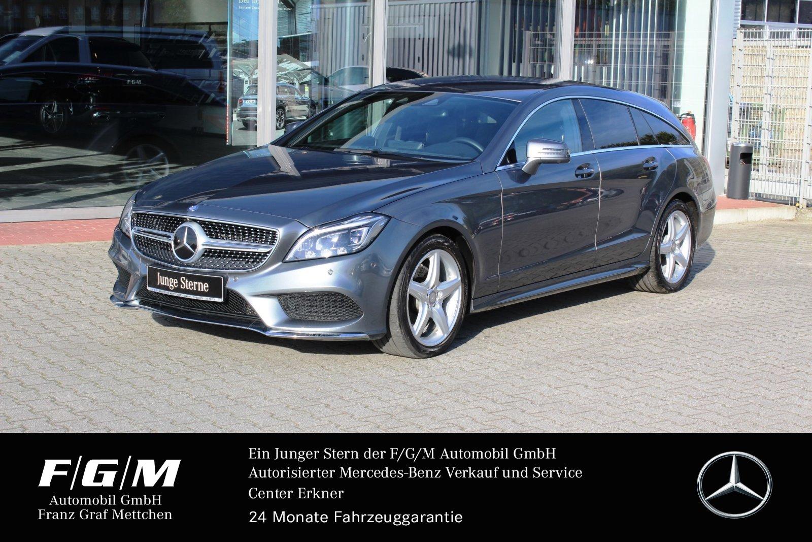 Mercedes-Benz CLS 250 d 4M SB AMG/Com/Distr+/Standheizung/Memo, Jahr 2015, Diesel