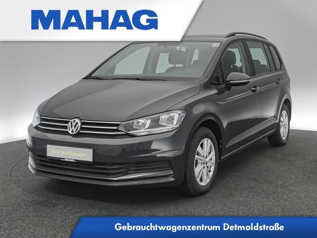 Volkswagen Touran COMFORTLINE 2.0 TDI 7-Sitzer Navi ParkPilot FrontAssist 16Zoll 6-Gang, Jahr 2020, Diesel