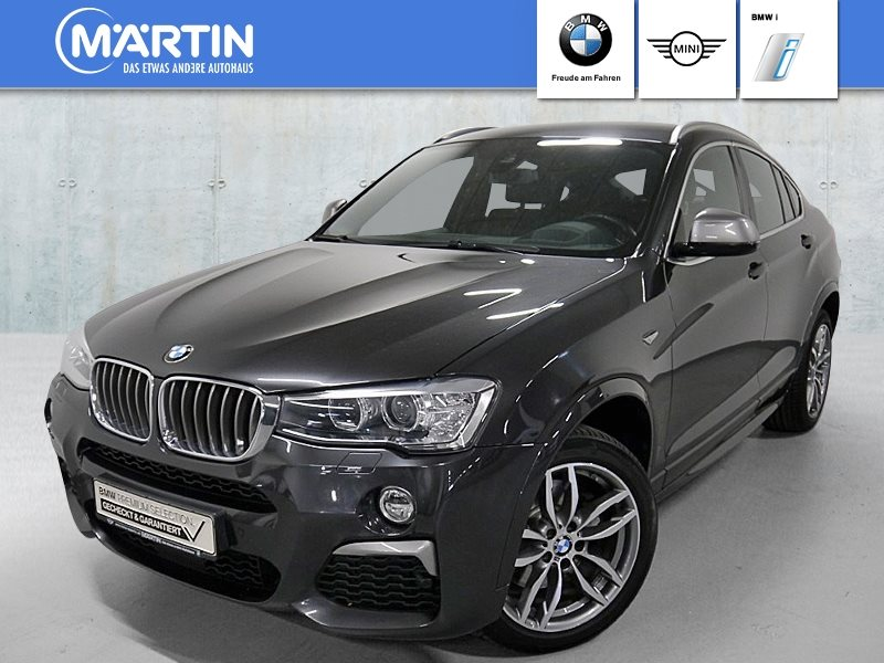 BMW X4 M40i M Sportpaket *Head-Up*HK*Xenon*WLAN*, Jahr 2017, Benzin