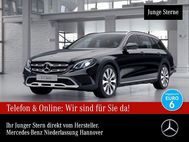 Mercedes-Benz E 220 d T 4M All-Terrain Standhzg DISTRONIC KEY, Jahr 2017, Diesel