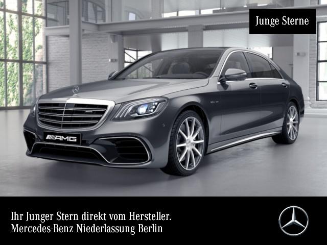 Mercedes-Benz S 63 AMG 4M + Lang Pano DISTRONIC ExklPaket 360°, Jahr 2018, Benzin