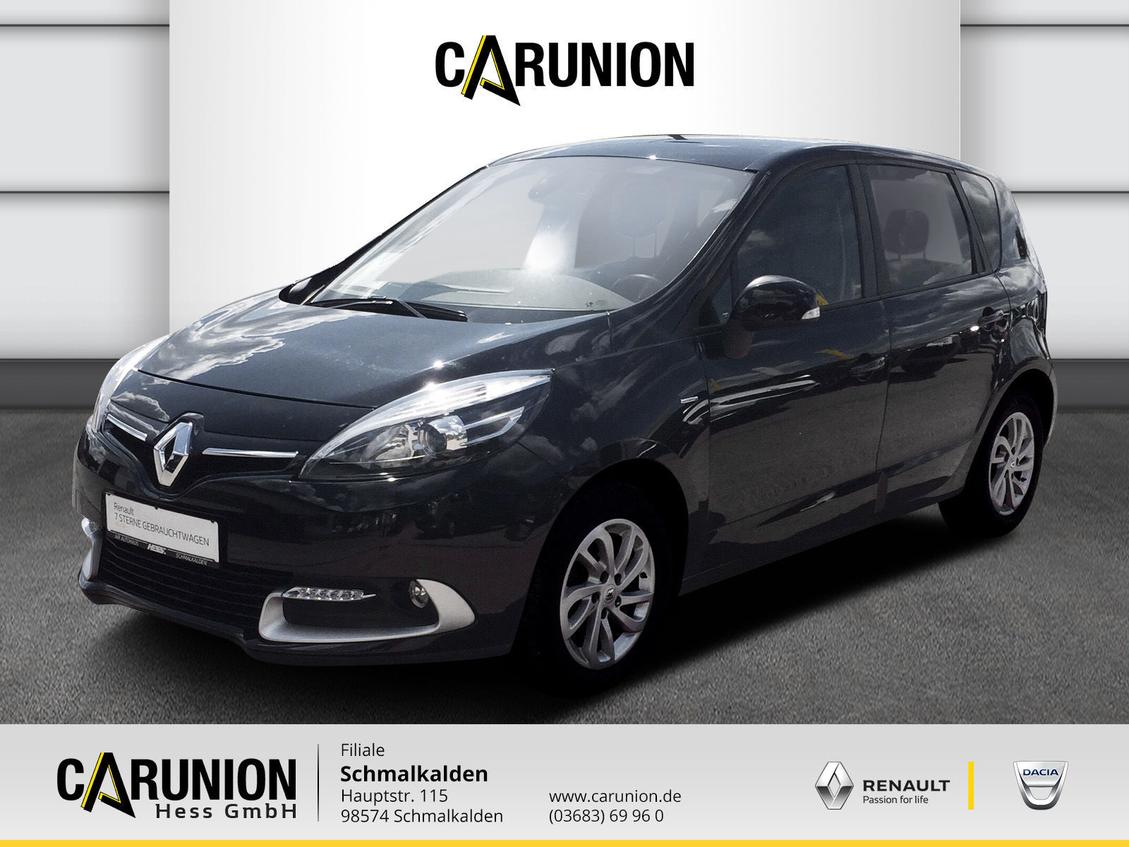 Renault Scenic LIMITED Deluxe dci 110, Jahr 2015, Diesel