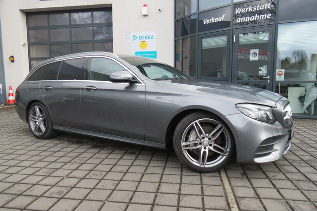 Mercedes-Benz E 200 T AMG Line Ils/Burmester/19Zoll/Kam/e-Klap, Jahr 2017, Benzin