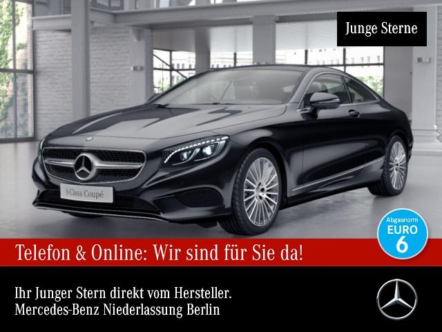 Mercedes-Benz S 500 Cp. 4M Swarovski Fahrass Nachtsicht 360°, Jahr 2017, Benzin