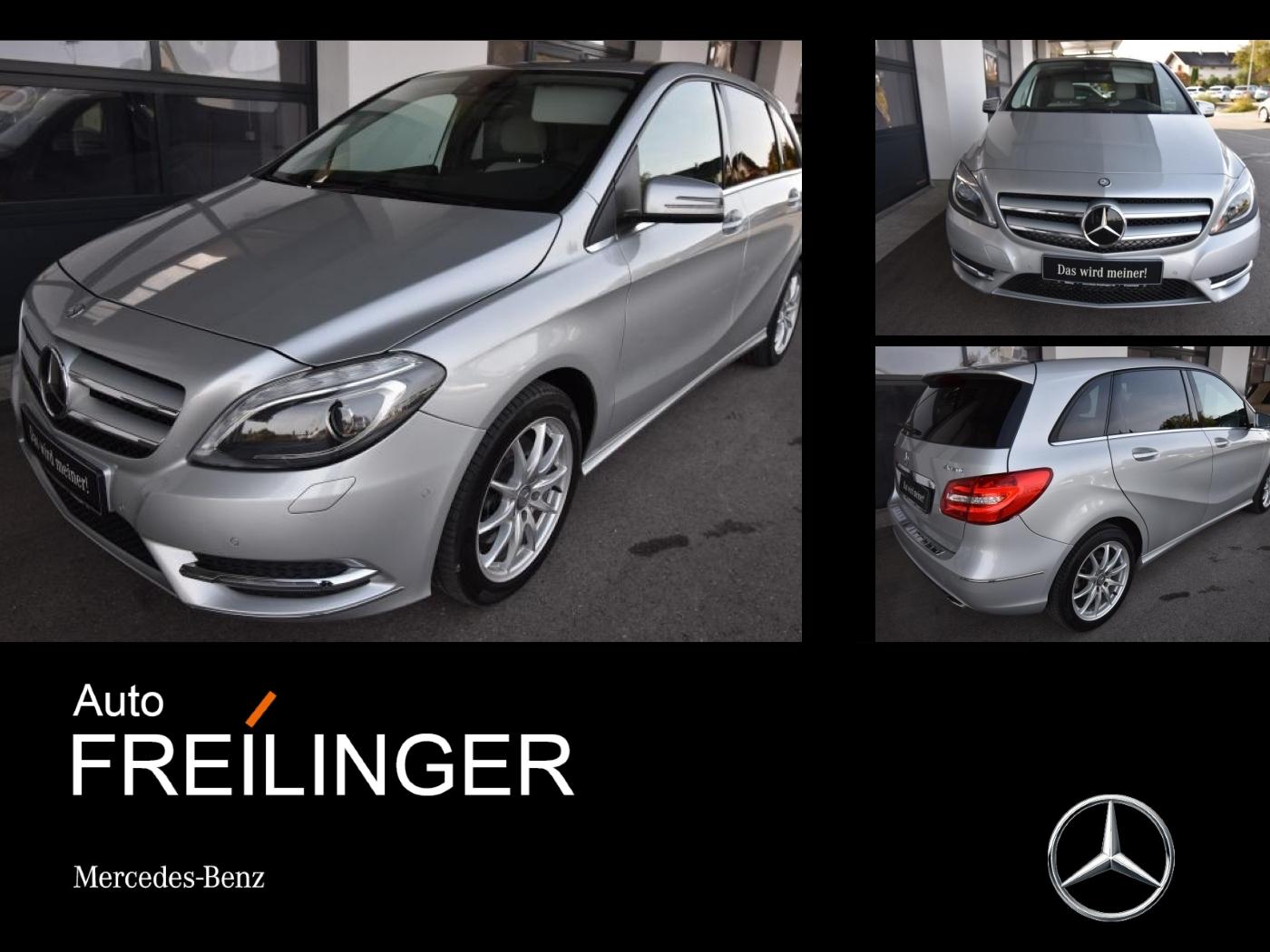 Mercedes-Benz B 220 4MATIC Comand Standheizung Xenon Fahrassis, Jahr 2014, Benzin