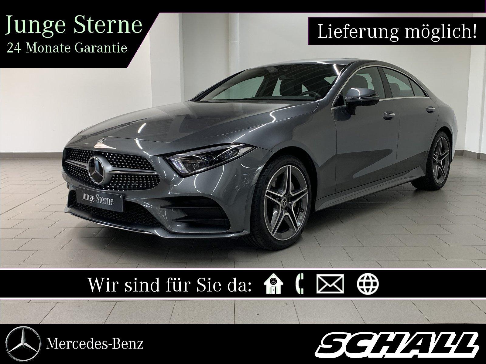 Mercedes-Benz CLS 400 d 4M AMG+DISTR+WIDE+MULTIBEAM+360°+MEMO, Jahr 2018, Diesel
