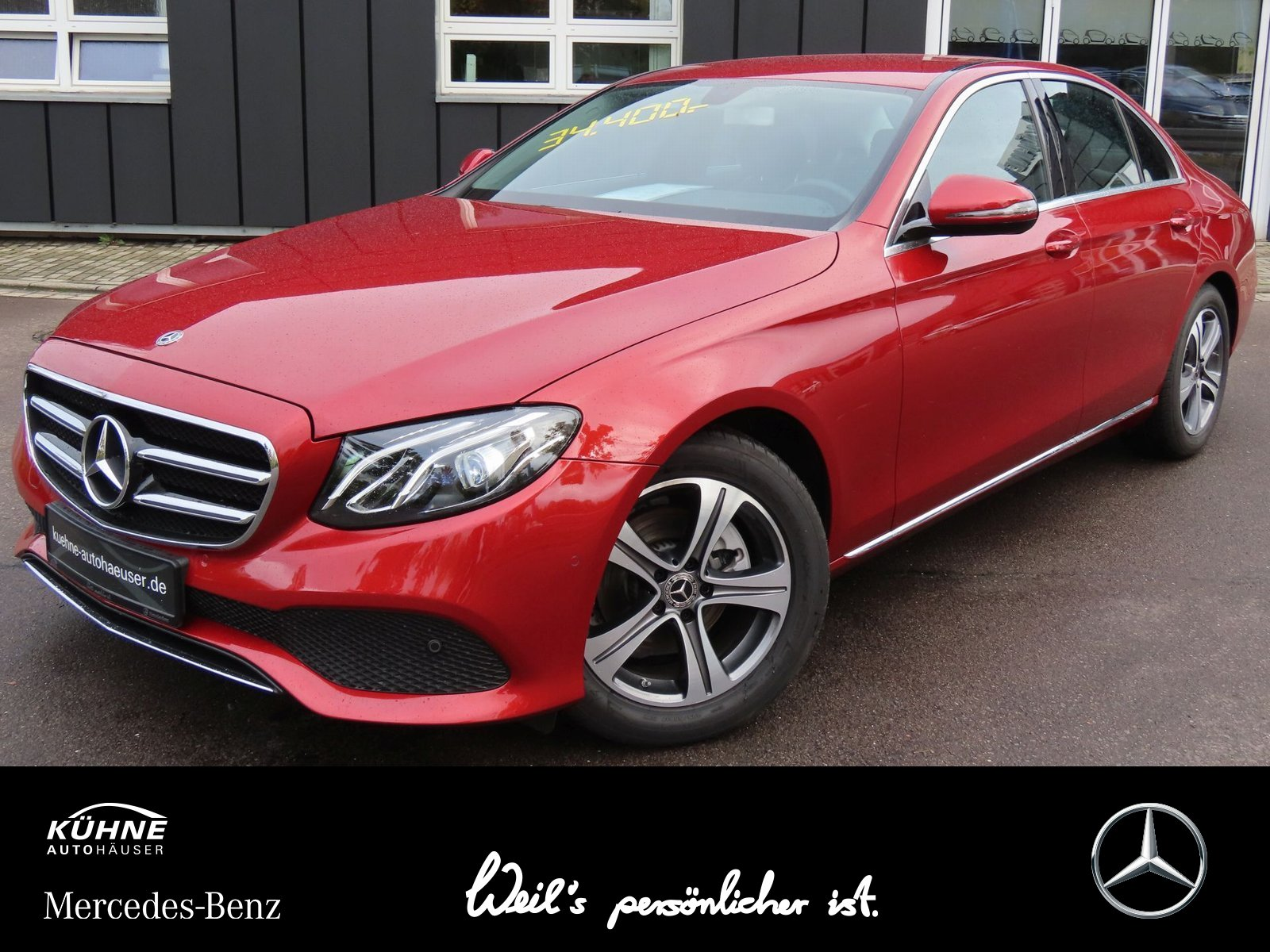 Mercedes-Benz E 200 d Avantgarde+AHZV+Business+Kamera+DigiRadi, Jahr 2019, Diesel