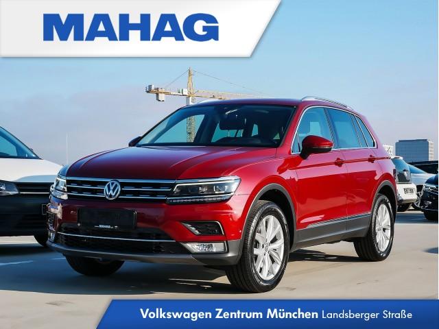 "Volkswagen Tiguan Highline 2.0 TSI BMT DSG 4Motion - Rückfahrkamera ""Rear View"" inkl. Parklenkassistent- Head-up-Display - Anhängekupplung - Panoramadach - Stauassistent, Ausparkassistent sowie ""Side Assist Plus"" inkl. ""Lane Assist"" - LED-Scheinwerfer - NAVI, Jahr 2016, petrol"