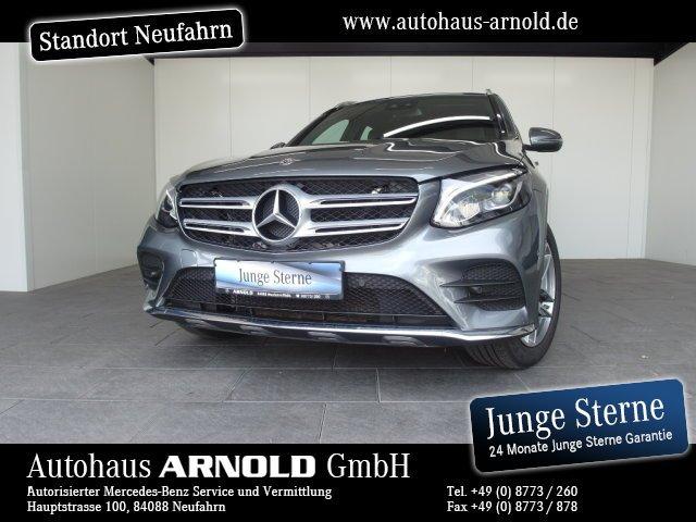 Mercedes-Benz GLC 350 d 4M AMG-Line AHK Panorama LED Comand !, Jahr 2018, diesel
