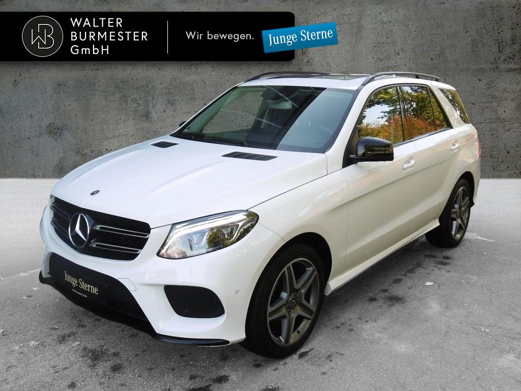 Mercedes-Benz GLE 250 d 4MATIC AMG+Comand+Spur-P.+360°+Night, Jahr 2018, Diesel