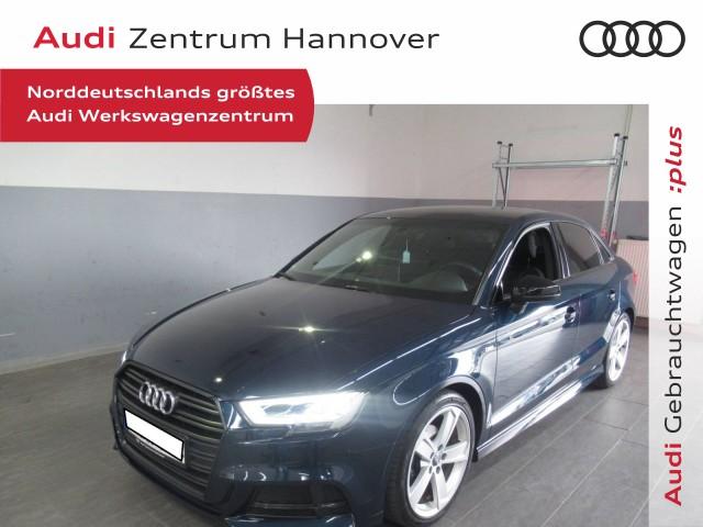 Audi A3 Limousine 1.4 TFSI S-line, Black Ed., LED, Teilleder, Navi, 18-Zoll, DAB, Jahr 2017, Benzin