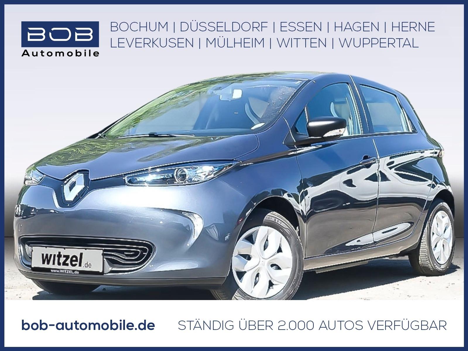 Renault ZOE LIFE Batteriemiete Option auf Z.E. 40 Paket, Jahr 2020, Elektro