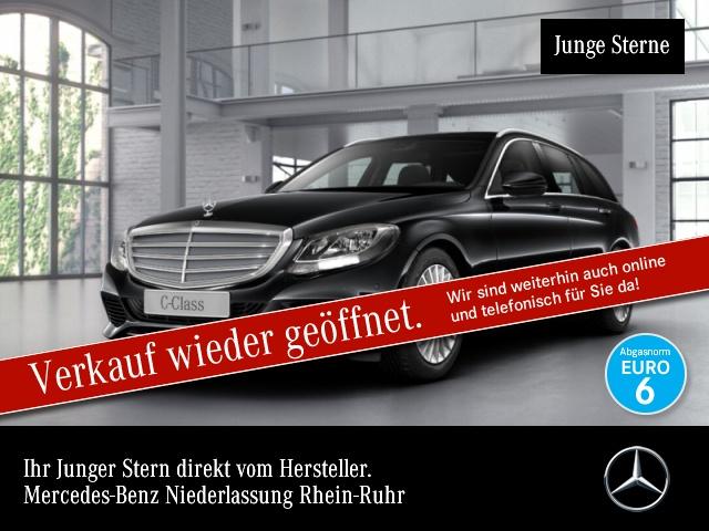 Mercedes-Benz C 400 T 4M Avantgarde Exclusive AHK PTS 9G Sitzh, Jahr 2017, Benzin