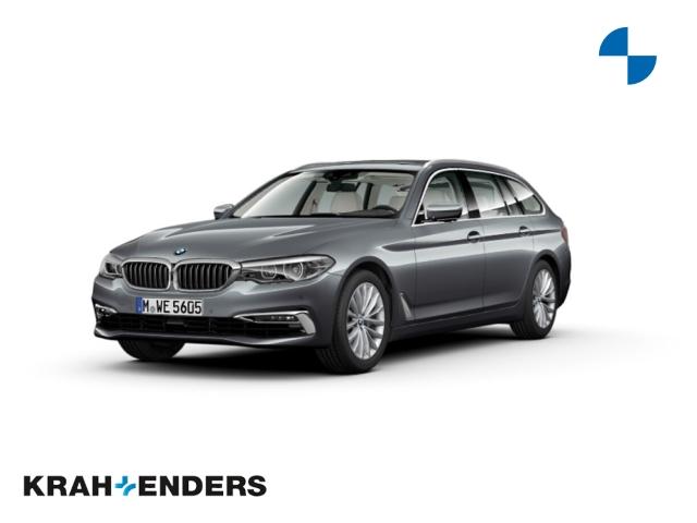 BMW 540 i Touring xDrive Luxury Line+StandHZG+Panorama, Jahr 2018, Benzin