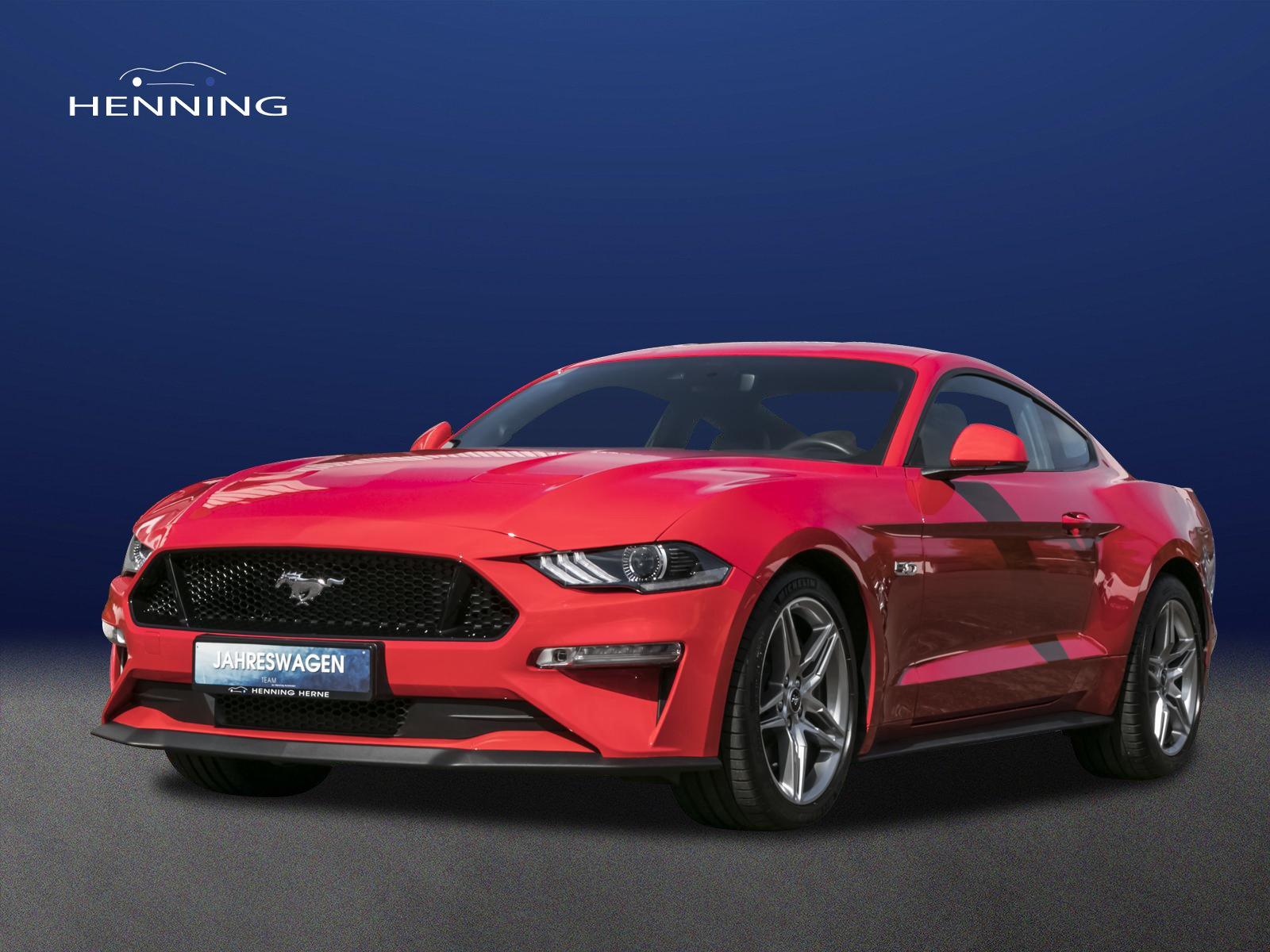 Ford Mustang 5.0 Fastback GT*DEUTSCHES FZG*UNFALLFEI*, Jahr 2018, Benzin