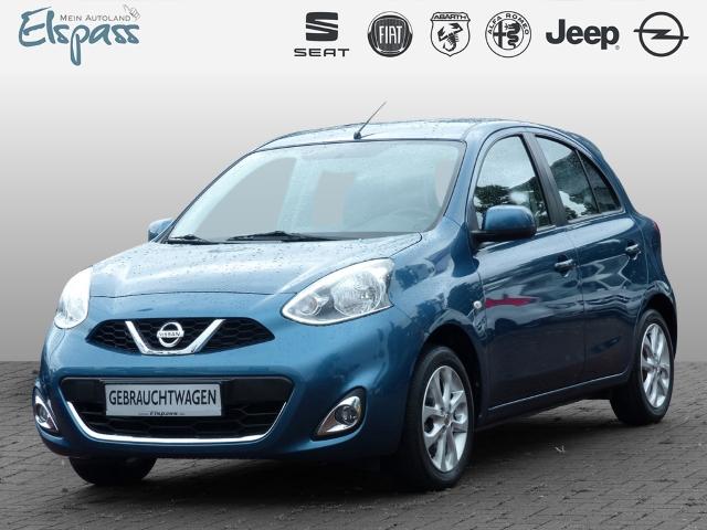 Nissan Micra Acenta 1.2 DIG-S KLIMA TEMP CD ALU MET, Jahr 2015, Benzin
