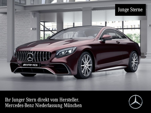 Mercedes-Benz S 63 4MATIC Coupé Sportpaket Bluetooth Navi LED, Jahr 2019, Benzin