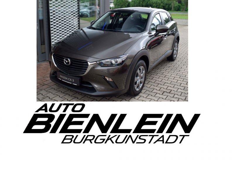 Mazda CX-3 2.0 120PS Prime-Line Berganfahrassistent i-stop Klimaanlage ISOFIX, Jahr 2018, Benzin